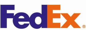 The current logo for FedEx