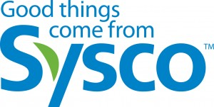 The logo of Sysco