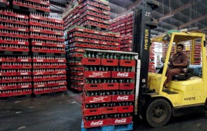 coca cola warehouse